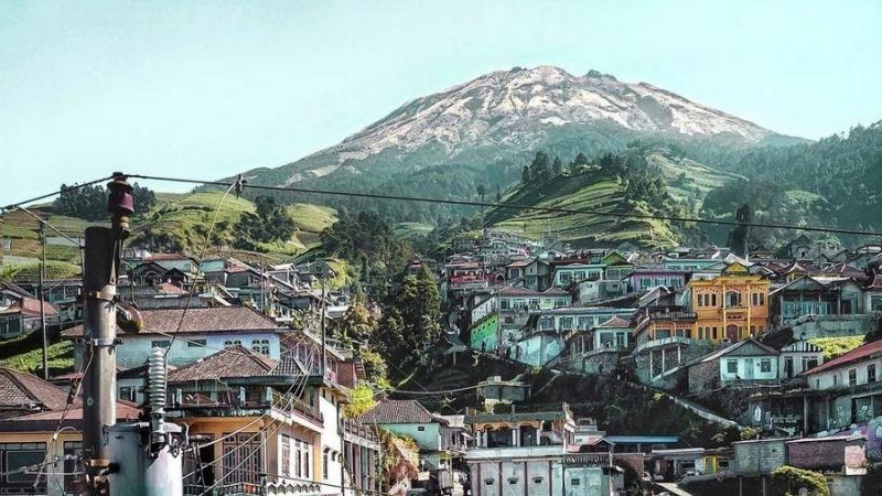 Pemandangan Nepal Van Java